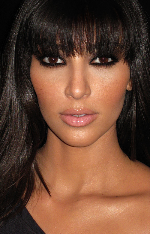 Celebrity Makeup Look of the Week – Kim Kardashian ...